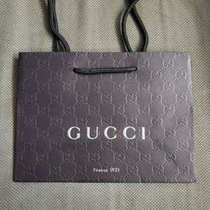 Gucci Embossed GG Shopping Bag